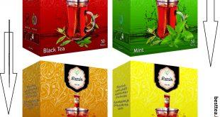 فروش چای طعم دار ایرانی
